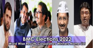 BMC Election 2022 Candidate Wise Results