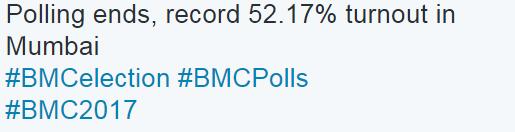 bmc polling percentage